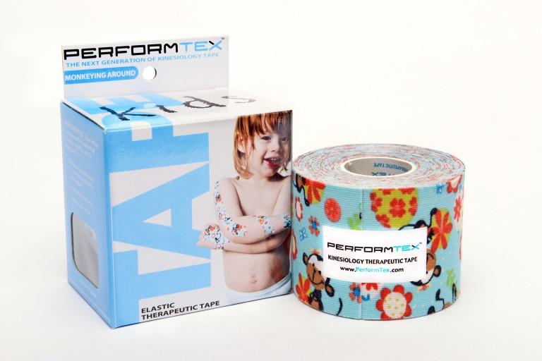 "PerformTex™ Pediatric ""Monkey"" Tape 5cm x 5m"